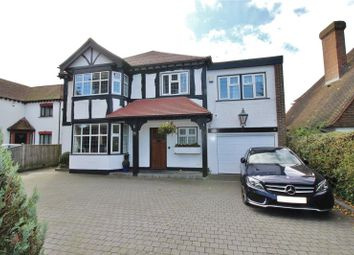 Thumbnail 4 bedroom detached house for sale in Poulters Lane, Broadwater, Worthing