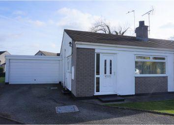 Thumbnail 2 bed semi-detached bungalow for sale in Gaerwen Uchaf Estate, Gaerwen