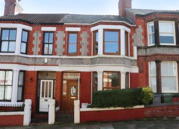 Thumbnail 3 bed terraced house for sale in Clive Road, Prenton