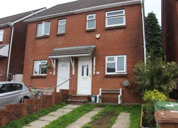 Thumbnail 3 bed semi-detached house to rent in Stanley Street, Senghenydd, Caerphilly