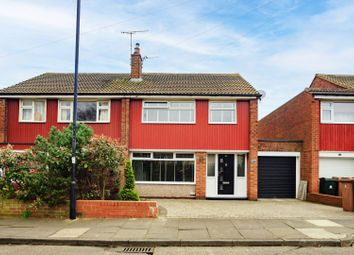 Thumbnail 3 bed semi-detached house for sale in Otterburn Avenue, Whitley Bay