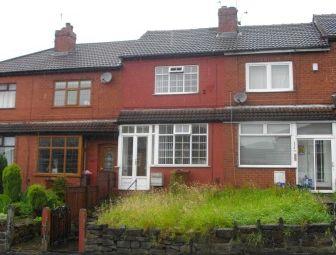 Thumbnail 2 bed mews house to rent in Block Lane, Oldham