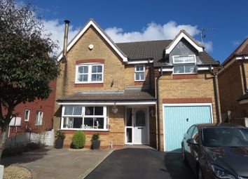 Thumbnail 4 bed detached house for sale in Woodrow Way, Chesterton, Newcastle