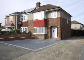Thumbnail 3 bed semi-detached house to rent in Roundmoor Drive, Cheshunt, Waltham Cross