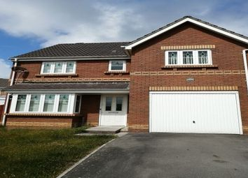 Thumbnail 4 bed detached house to rent in Harding Close, Swansea