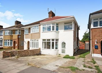 Thumbnail 3 bed semi-detached house for sale in The Heights, Northolt
