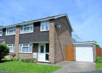 Thumbnail 3 bedroom semi-detached house for sale in Cranbourne Park, Hedge End, Southampton, Hampshire