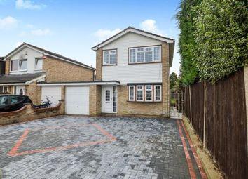 Thumbnail 3 bed detached house for sale in Crofton Close, Kennington, Ashford, Kent