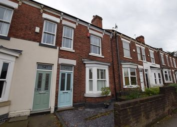 Thumbnail 2 bed terraced house to rent in Burton Road, Littleover, Derby