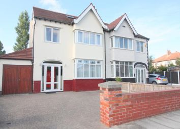 Thumbnail 4 bed semi-detached house for sale in Brownmoor Park, Crosby, Liverpool