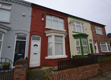 Thumbnail 3 bedroom terraced house to rent in Croxteth Avenue, Liverpool