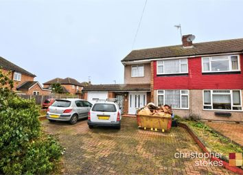 Thumbnail 3 bed end terrace house for sale in Rushleigh Avenue, Cheshunt, Cheshunt, Hertfordshire