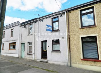 Thumbnail 2 bed terraced house for sale in Church Street, Tredegar, Blaenau Gwent.