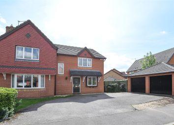 Thumbnail 4 bedroom detached house for sale in Lornas Field, Hampton Hargate, Peterborough
