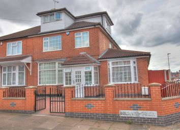 Thumbnail 4 bedroom semi-detached house for sale in Bolsover Street, Leicester