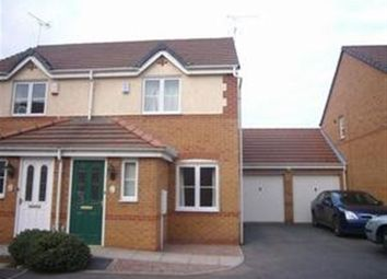 Thumbnail 2 bed semi-detached house to rent in Kyle Road, Hilton, Derby