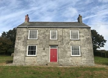 Thumbnail 4 bed property to rent in Trelyon, Grampound Road, Truro