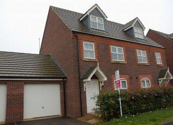 Thumbnail 3 bed town house for sale in Sandy Hill Lane, Moulton, Northampton