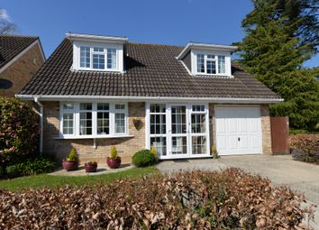 Thumbnail 3 bed detached house for sale in Linford Close, New Milton