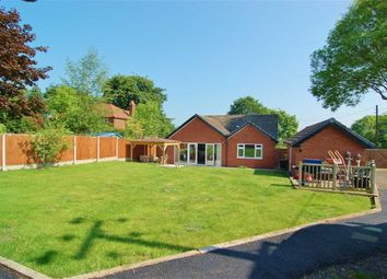 Thumbnail 3 bed detached bungalow for sale in Brookside Cottages, Congleton Road, Sandbach