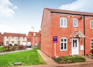 Thumbnail 2 bed end terrace house for sale in Compton Close, Glastonbury