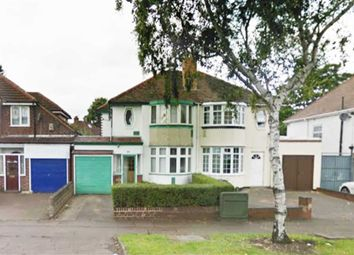 Thumbnail 3 bed semi-detached house to rent in Walsall Road, Perry Barr, Birmingham