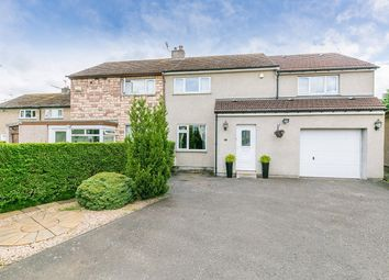 Thumbnail 4 bed semi-detached house for sale in Wester Drylaw Drive, Wester Drylaw, Edinburgh
