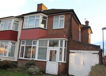 Thumbnail Semi-detached house to rent in Wemborough Road, Stanmore