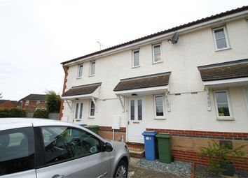 Thumbnail 1 bed terraced house for sale in Skipper Road, Pinewood, Ipswich, Suffolk