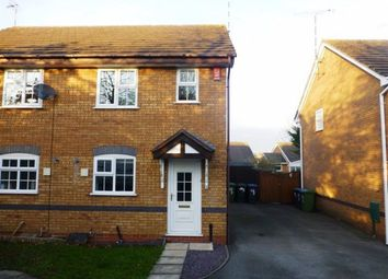 Thumbnail 2 bed semi-detached house to rent in Webb Drive, Rugby