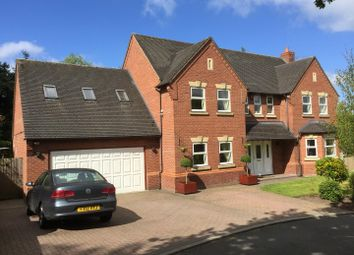 Thumbnail 5 bed detached house to rent in Oaktree Drive, Loggerheads, Market Drayton
