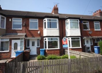 Thumbnail 3 bed terraced house to rent in Priory Road, Hull, East Riding Yorkshire
