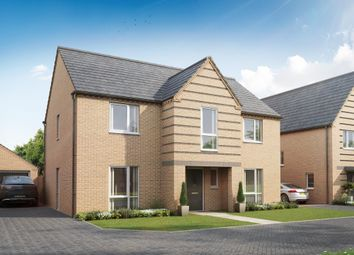 "Thumbnail 4 bed detached house for sale in ""Winstone"" at Pedersen Way, Northstowe, Cambridge"