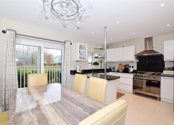 Thumbnail 4 bed detached house for sale in Lake Walk, Larkfield, Kent
