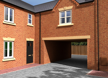 Thumbnail 2 bed mews house for sale in William Nadin Road, Swadlincote, Derby