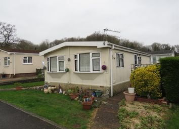 Thumbnail 2 bed mobile/park home for sale in Valley Road, Cat & Fiddle Park, Exeter