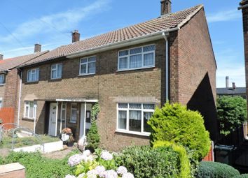 Thumbnail 3 bed semi-detached house for sale in Cavell Crescent, Dartford