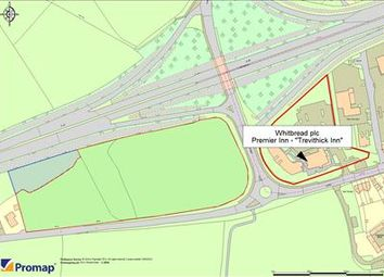 Thumbnail Land for sale in Camborne West, Treswithian, Camborne, Cornwall
