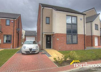 Thumbnail 3 bed detached house to rent in Greville Gardens, Great Park, Newcastle Upon Tyne