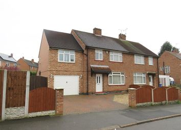 Thumbnail 4 bed semi-detached house for sale in Edmund Road, Spondon, Derby