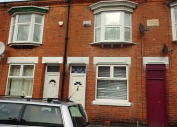 Thumbnail 2 bedroom terraced house for sale in Raymond Road, Off Narborough Road, Leicester