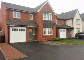 Thumbnail 4 bed detached house to rent in Teasdale Place, Chase Meadow, Warwick