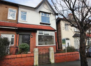 Thumbnail 3 bed semi-detached house for sale in Harrow Road, Wallasey, Wirral