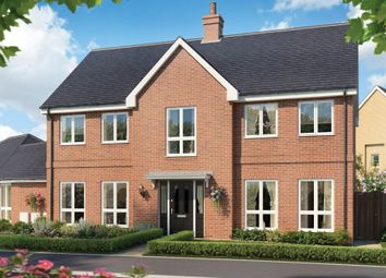 Thumbnail 4 bedroom detached house for sale in Biggleswade Road, Potton, Sandy