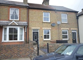 Thumbnail 2 bed terraced house to rent in Vicarage Road, Chelmsford