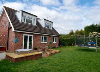 Thumbnail 3 bed detached house for sale in Holly Close, Lincoln