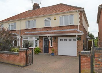 Thumbnail 5 bed semi-detached house for sale in Suffolk Road, King's Lynn