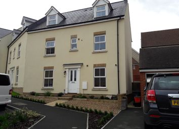 Thumbnail 4 bed semi-detached house for sale in Dyson Road, Blunsdon, Swindon