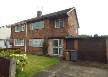 Thumbnail 3 bed semi-detached house for sale in Nantwich Close, Upton, Wirral
