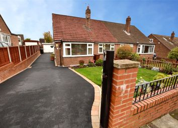 Thumbnail 3 bed semi-detached bungalow for sale in Springbank Drive, Farsley, Pudsey, West Yorkshire